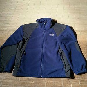 The North Face Blue Fleece Jacket. M